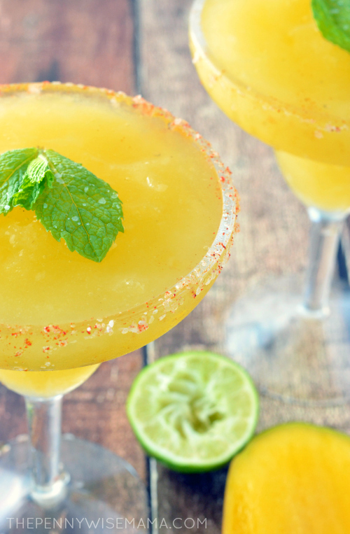 The Best Mango Margarita