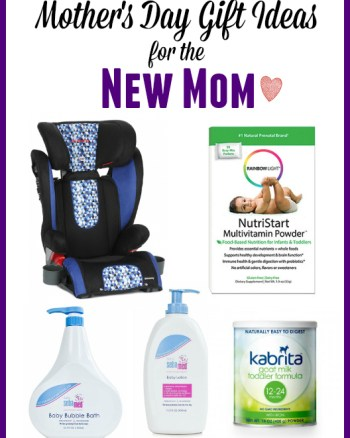 Mother's Day Gift Ideas for the New or Expectant Mom