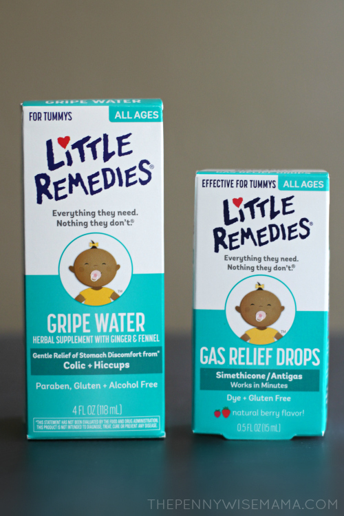 Little Remedies Tummy Relief Products
