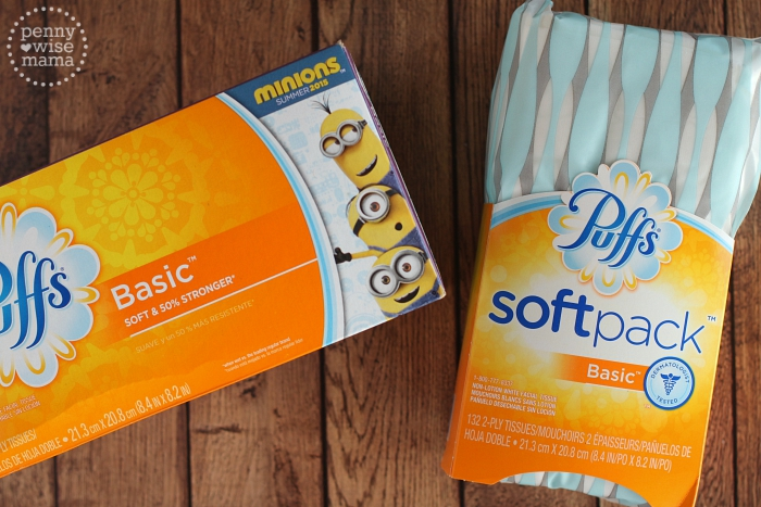 Puffs Tissues with Minions