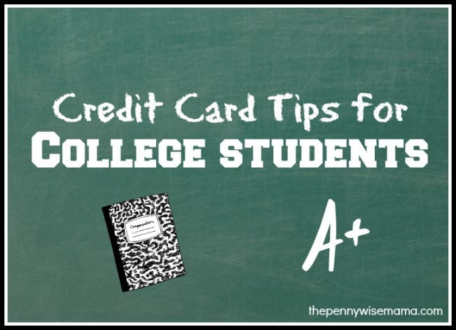 Credit Card Tips for College Students