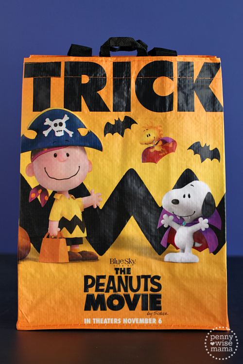 Peanuts Movie Trick-or-Treat Bags