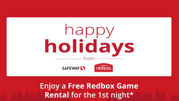 Free Redbox Rental & Letter from Santa