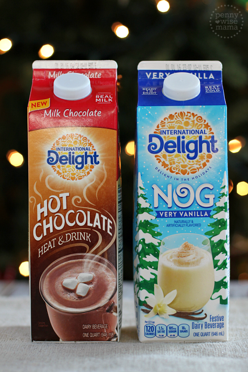 International Delight Hot Chocolate & Egg Not