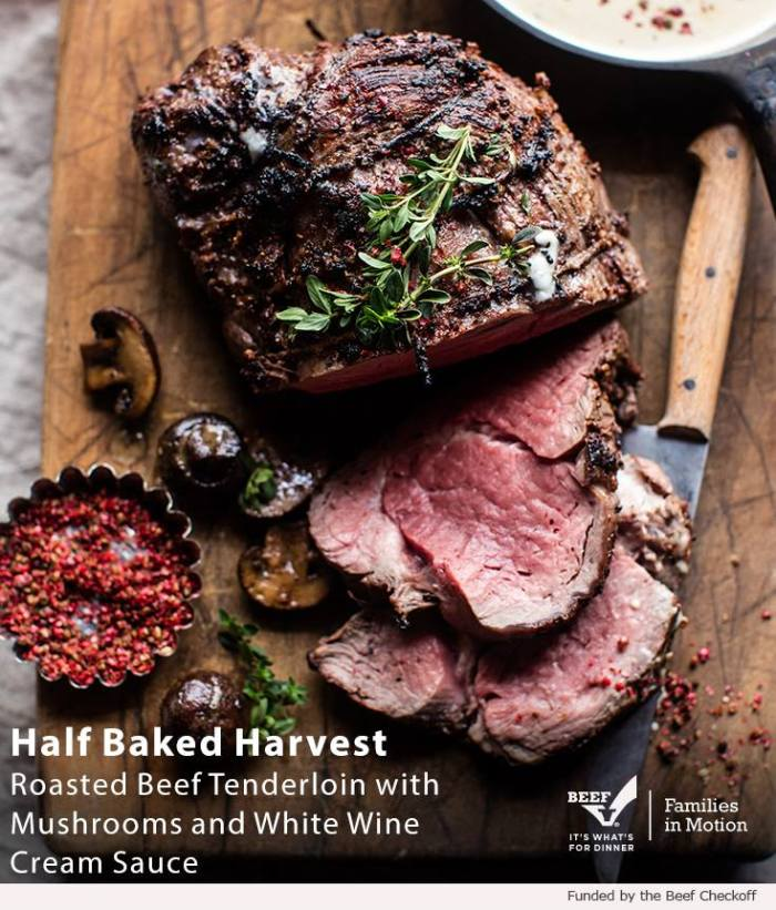 Roasted Beef Tendeloin