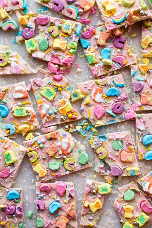 Lucky Charms Bark