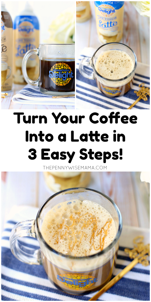 Turn Your Coffee Into a Caramel Macchiato Latte in 3 Easy Steps!