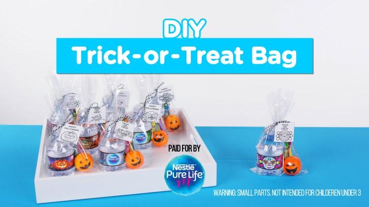 Healthy DIY Trick-or-Treat Bags