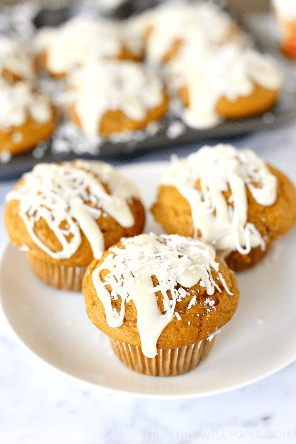 Coconut Pumpkin Muffins Recipe