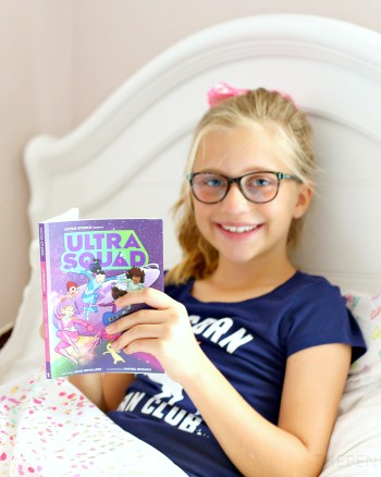 Ultra Squad Graphic Novel Series for Tween Girls