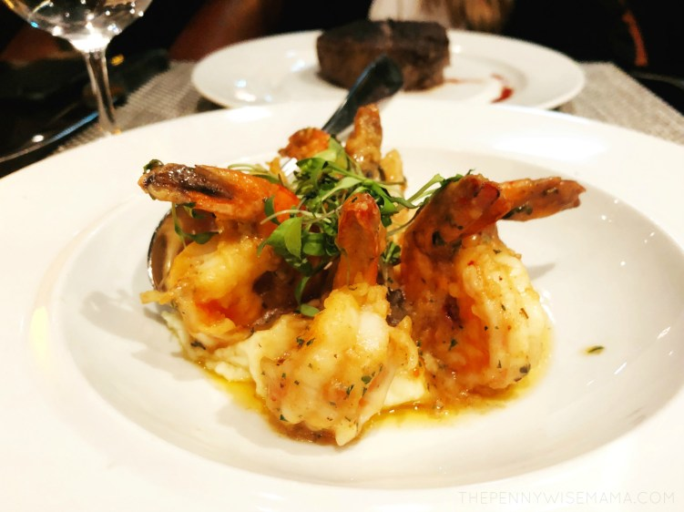 Royal Caribbean Symphony of the Seas - Chops Grille - Spicy Shrimp
