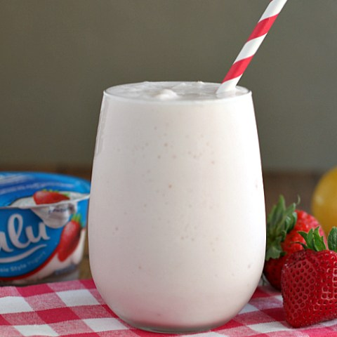 Skinny Frosted Strawberry Lemonade