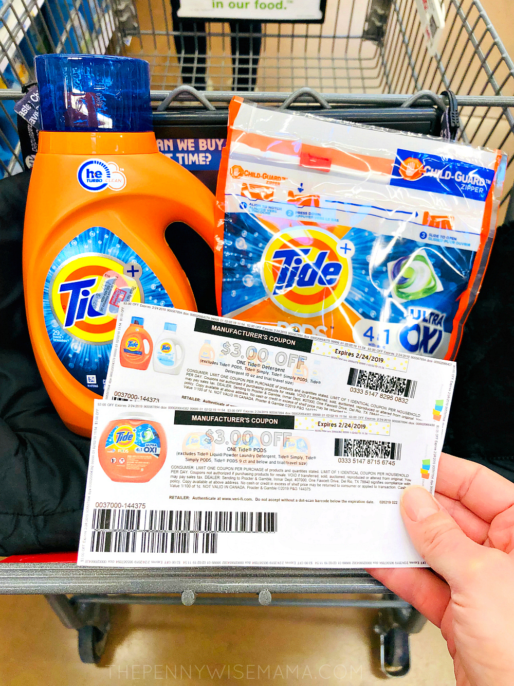 New 3 Off Tide Pods Or Tide Detergent Coupon The