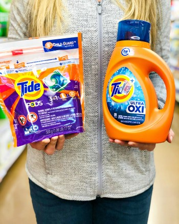Save big on Tide PODS & Tide Liquid Detergent {Printable Coupons}