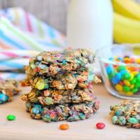 3 Ingredient Rainbow Cookies