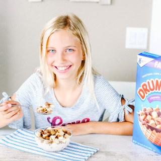 Eating Drumstick Cereal for Breakfast
