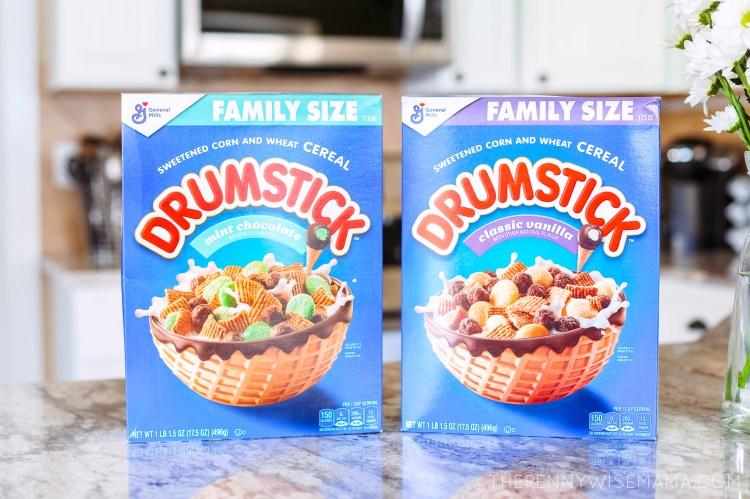New Drumstick Cereal