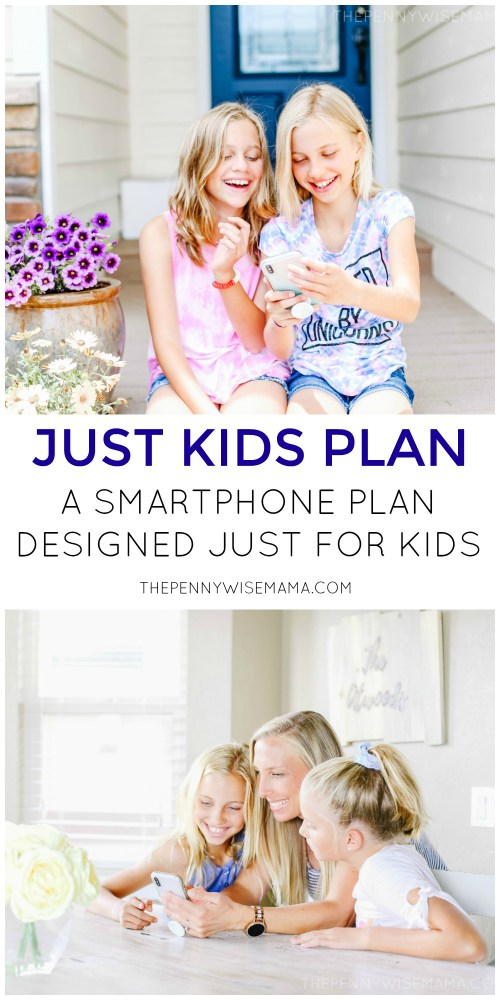 Just Kids Plan - A Smartphone Plan Designed Just for Kids! Click to learn more #Verizon #JustKidsPlan