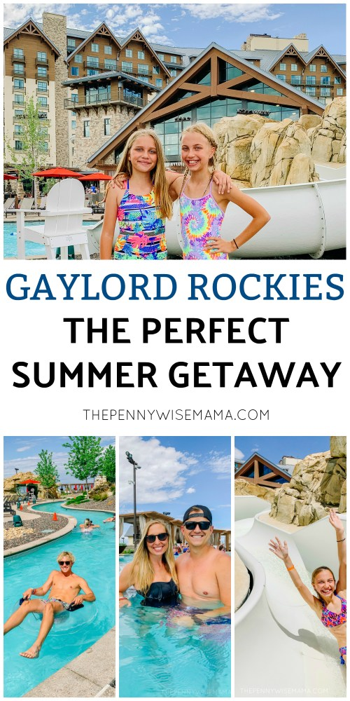 Plan a fun family getaway to Gaylord Rockies this summer! #GaylordRockies #vacation #staycation #familytravel #travel #luxuryresort