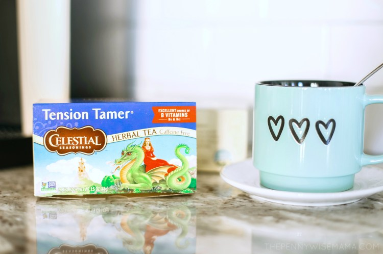 Celestial Seasonings Tension Tamer Herbal Tea
