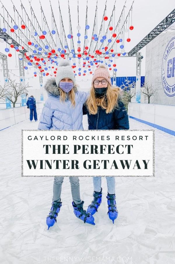 Plan a fun family getaway to Gaylord Rockies this winter! #GaylordRockies #vacation #staycation #familytravel #travel #luxuryresort
