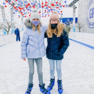 Ice Skating at Gaylord Rockies Resort in Colorado