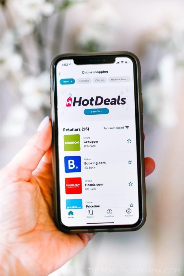 ibotta travel deals
