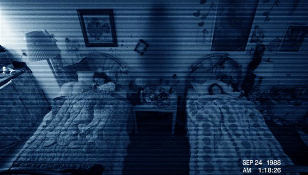 'Welcome To My World' ….BOO! The World Of Paranormal Activity