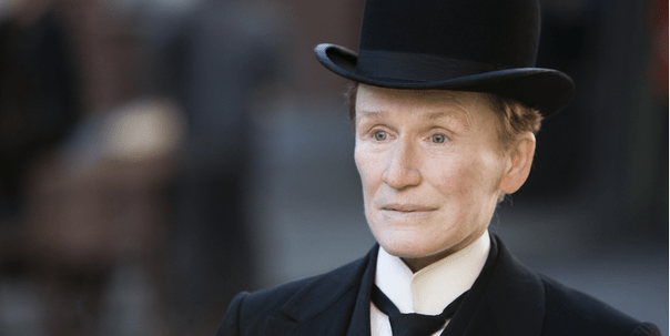 """Whose The Lucky Lady?"" – Glenn Close is Albert Nobbs in 2 new clips"