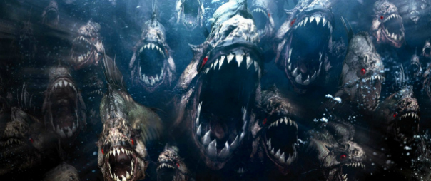 First Official (TV) Teaser Trailer For Piranha 3DD! Starring The Hoff!!!