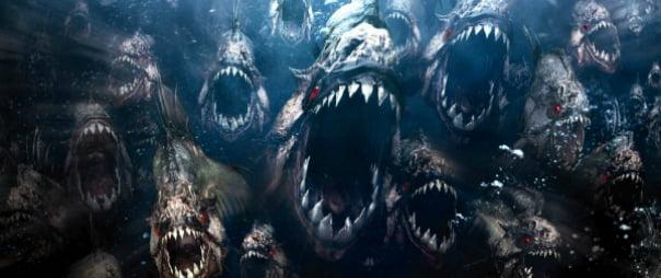First Official (TV) Teaser Trailer For Piranha 3DD! Starring The Hoff!!!