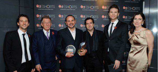 Aspiring film maker singled out by industry heavyweights John Hurt, Paul Greengrass and Mat Whitecross unite to select winner of Virgin Media Shorts 2011