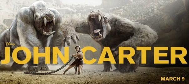 First TV Spots, New Poster For JOHN CARTER