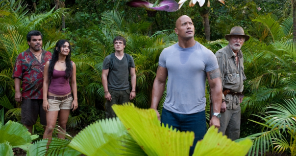 The Rock Layeth The Smacketh Down In New Images,Posters and TV Spots For JOURNEY 2: THE MYSTERIOUS ISLAND