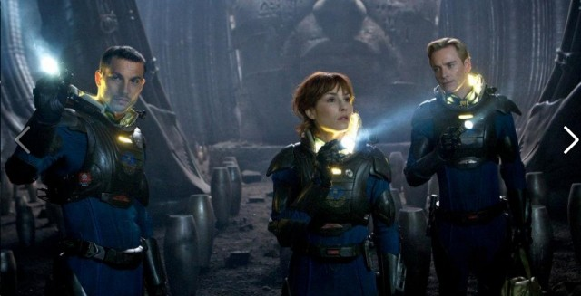 """We're Not From This Planet, Are We?"" PROMETHEUS Review Two"