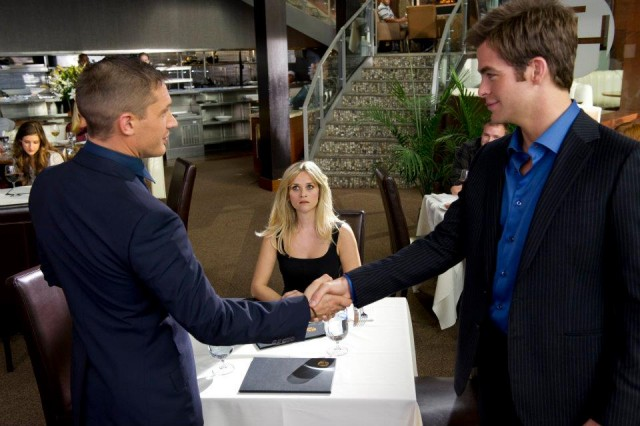 """""""Disturbing The Peace"""" In A Restaurant Means Nothing For These Agents In New THIS MEANS WAR Clip"""