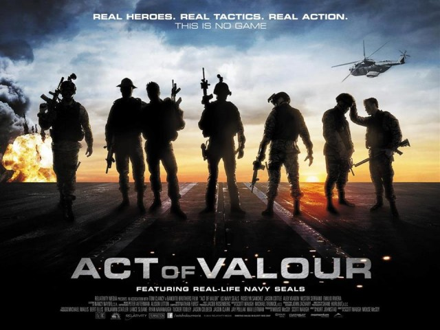 FEATURE & COMPETITION: Firepower In Movies, Win ACT OF VALOUR DVD Bundle