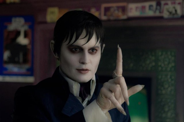 Very Brief Glimpse At The DARK SHADOWS Trailer