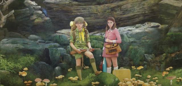 Wes Anderson's MOONRISE KINGDOM Get's A Poster, Film To Open Cannes Film Festival