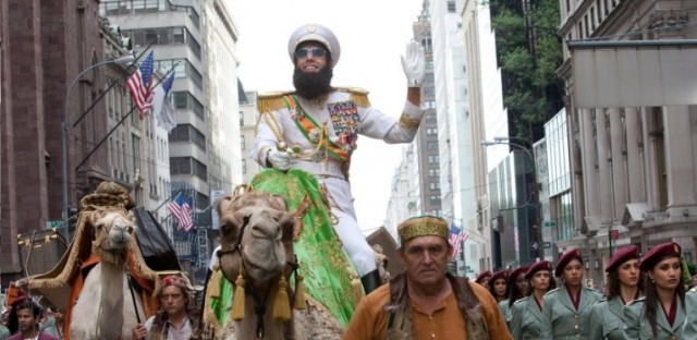 """He Loves To See Fireworks Over Statue Of Liberty"" – New TV Spot & Poster For THE DICTATOR"