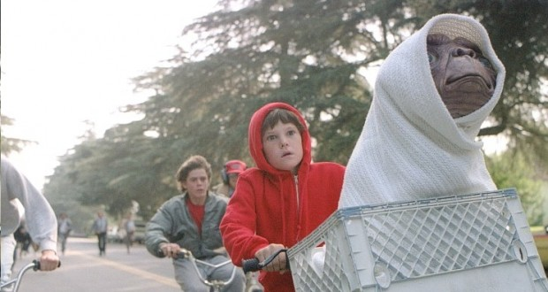 """E.T BIKE RIDE"" Voted Universal Pictures Best Top 100 Moment"