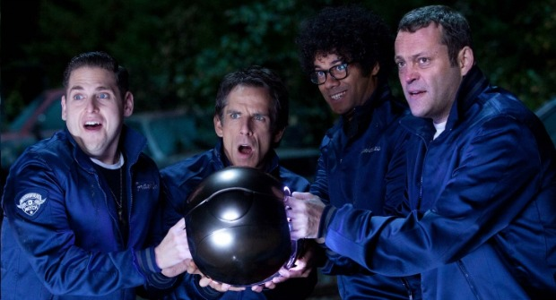 Vince Vaughn 'Has True Aim' In Stakeout Clip From THE WATCH