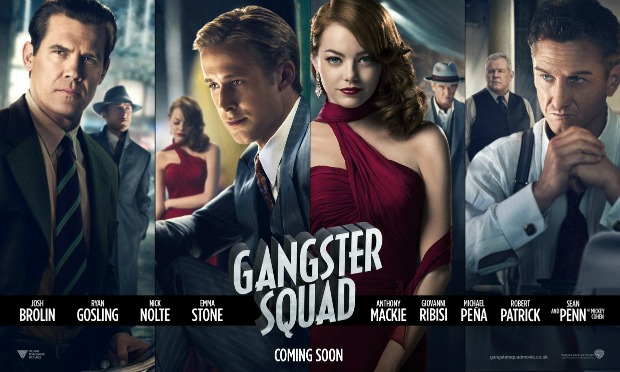 Stylish New Banner Poster For Ruben Fleischer's Gangster Squad