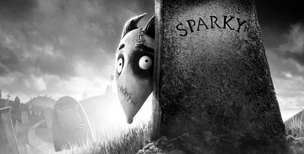 Old School Horror Style Comic-Con Frankenweenie Trailer!
