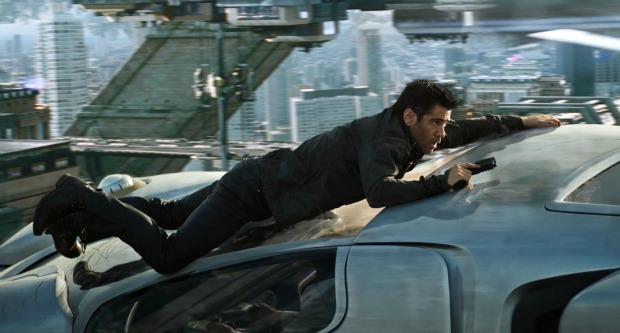 """Kiss Goodbye!"" Watch New Total Recall Clip"