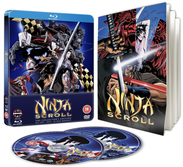 Classic Anime Ninja Scroll Coming to Blu-Ray First Time To UK