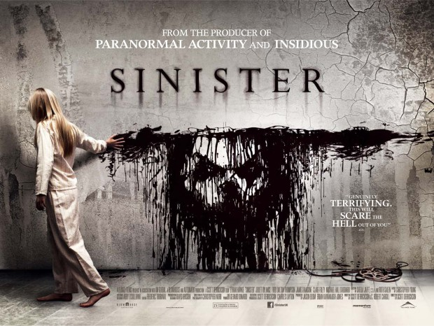 Win SINISTER  Poster And Exclusive Bag