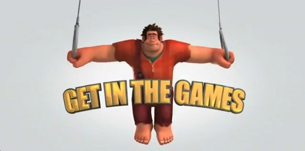 Wreck -It-Ralph Goes For Gold In 5 Olympic Themed TV Spots
