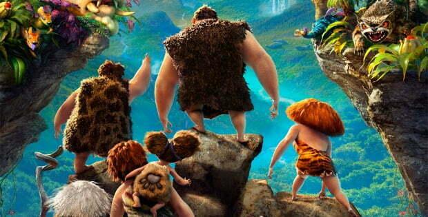 Da Da Dah! Enjoy New UK Trailer, clips, Artwork For The Croods