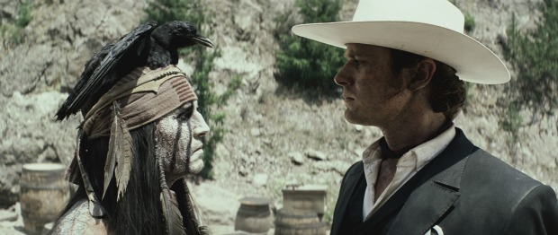Trains, Trains And Horsemobiles, The Lone Ranger Trailer Is Here!